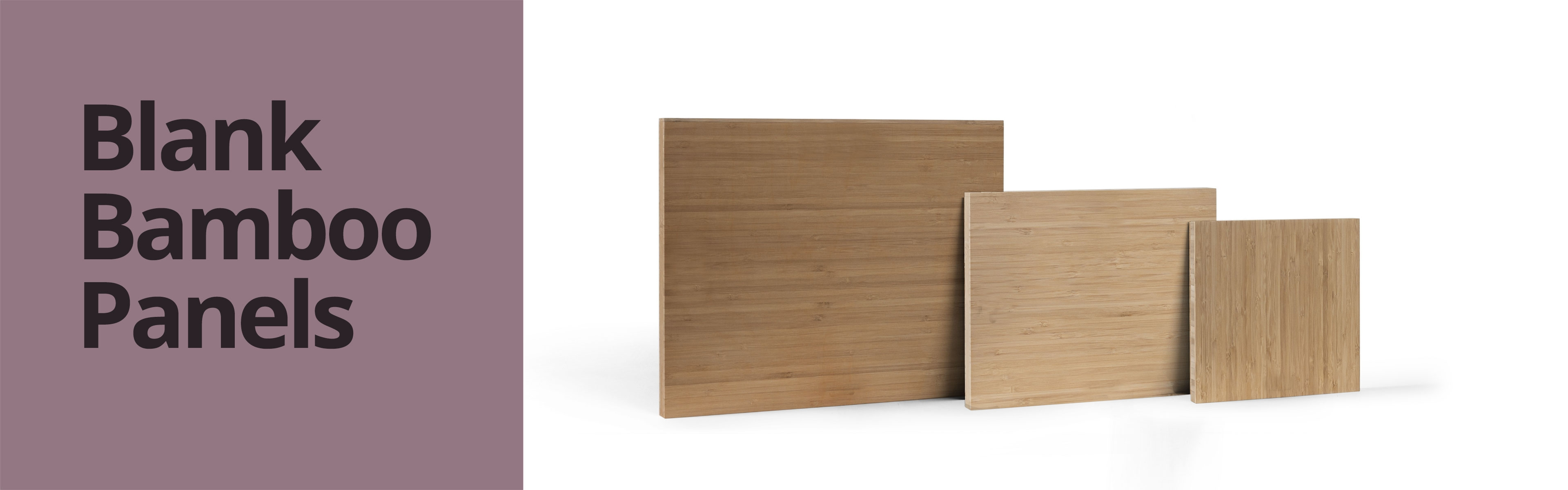 Blank Bamboo Panels