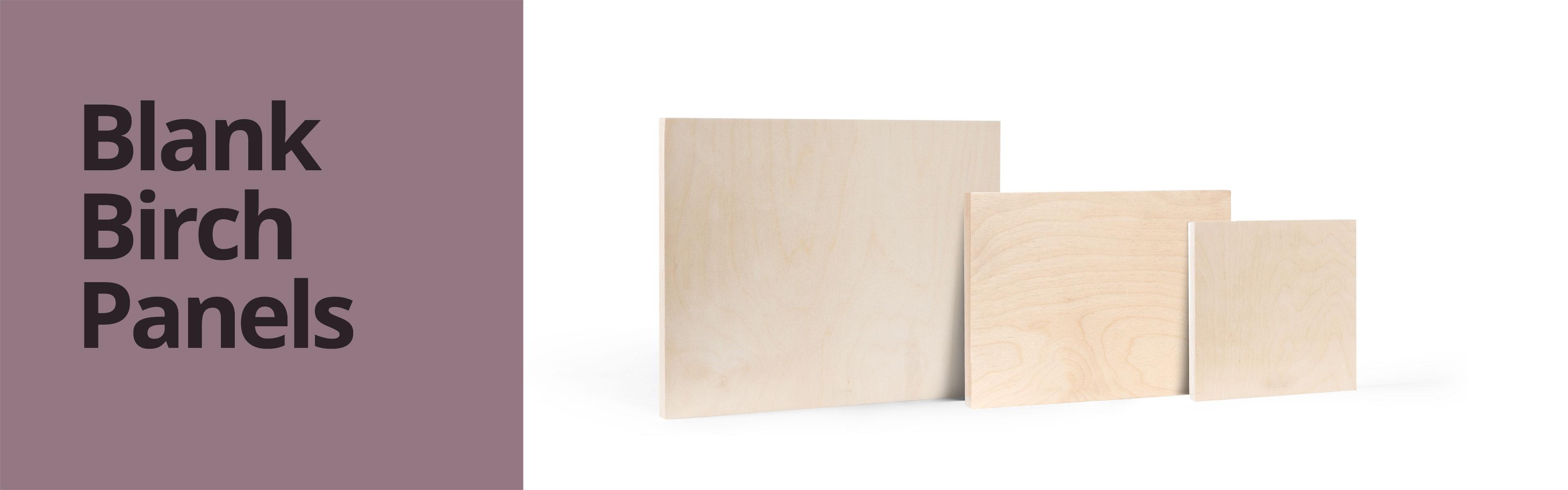 Blank Birch Panels