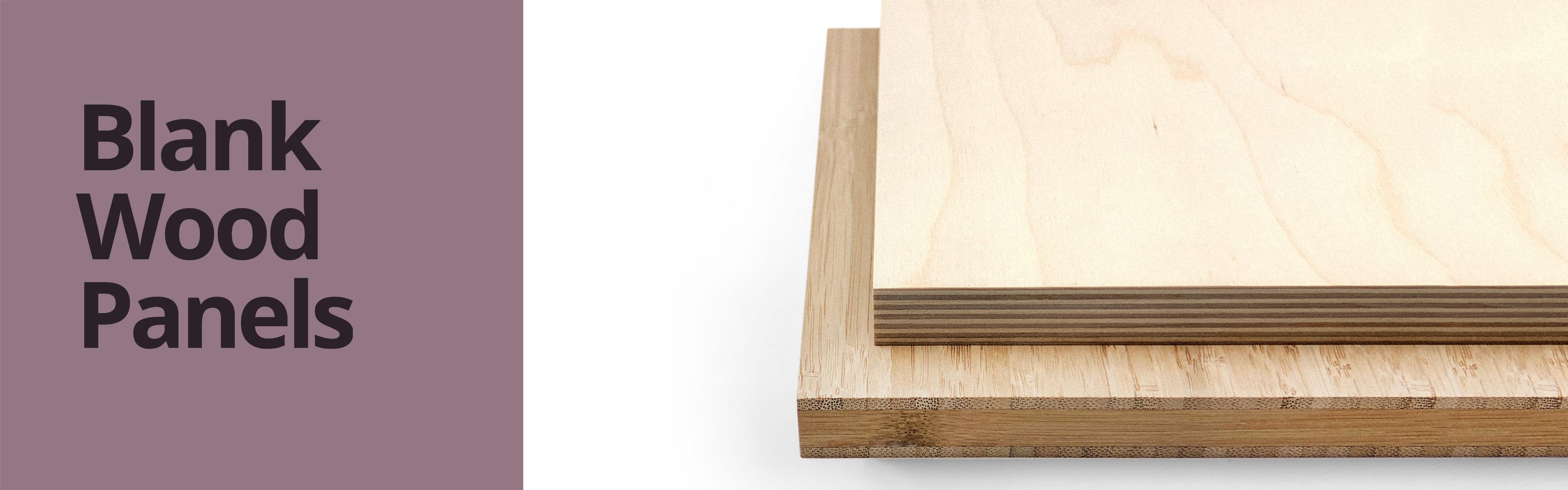Blank Wood Panels