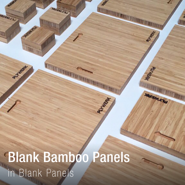 Blank Bamboo Canvases